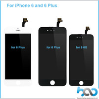 Wholesale For iPhone LCD Display With Touch Screen Digitizer Assembly With Frame Repair Replacement for iphone Plus LCD Assembly DHL Free