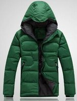 Wholesale Hot Winter New Fashion Men s Down Jacket Outdoor Man Cotton padded Coat Clothes Size M XXL