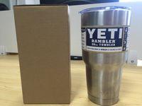 beer labels - Yeti oz Cups Cooler YETI Rambler Tumbler Travel Vehicle Beer Mug Double Wall Bilayer Vacuum Insulated with Original Labels
