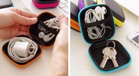 ipods - Portable Mini case inch or cm Storage Bag Keeper For Ipods Earphones cables chargers Flashdrives Keys