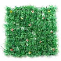 Wholesale Aquarium Lawn Artificial Plastic Green Grass Plant for Fish Tank Green color very beautiful and lifelike