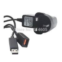 UK Adaptateur de cordon de câble d'alimentation pour Microsoft Xbox 360 Kinect Capteur Câble de caméra pt100