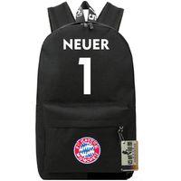 Day Packs Unisex Letter Manuel Neuer backpack Goal keeper school bag Soccer star sportman day pack Goalkeeper rucksack Sport schoolbag Football daypack