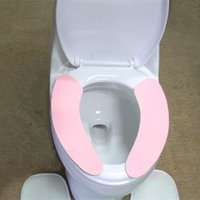 Wholesale Sticky Toilet Mat Toilet Seat Cover toilet seat Sitting stool cover Toilet seat thickening cleaning P25
