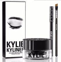 Wholesale Kylie Cosmetics Eyeliner colors Kylie Kyliner Black Brown Kyliner Eyeliner Kit Birthday Edition Dark Bronze Set DHL
