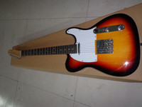 american basswood - best American Vintage Tele Custom Guitar T Sunburst OEM Cheap TL guitar
