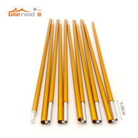 Wholesale set Hot New Outdoor Camping Tent Pole Aluminum Alloy rod mm Spare Replacement Tent supporting Pole accessories