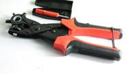 Wholesale 1pcs Multi functional belt punch Belt puncher Flat hole hole Manual drilling machine Hand Pliers Belt Holes Home Tool rotation