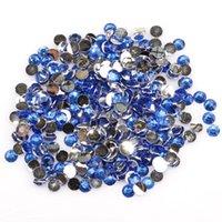 Wholesale Mixed Color Rhinestone Flatback Beads mm Half Round Crystal Rhinestone Acrylic Flatback Beads for Jewelry Making