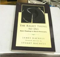 basic books - New Book The Right Thing To Do Basic Readings in Moral Philosophy By James Rachels th Seventh Edition