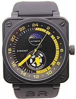 bell - New Mens Watches Black Rubber Bell BR Automatic Mechanicl BR01 LIMITED EDITION AVIATION Moon Day Power Reserve