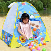 Wholesale baby tent toy ball house play happy big size cm cloth good material good gift for kids