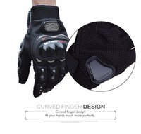 Wholesale Motorbike Gloves Outdoor Sports Riding Glove Breathable Protective Paired Full Finger Moto Luvas Mesh Fabric Racing Gears Gloves