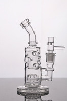 Wholesale Hot Sale RECYCLER GLASS BONG WATER PIPES DAB OIL RIGS GLASS BONG