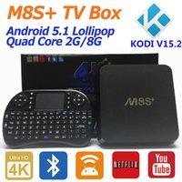 air install - Rii i8 Keyboard M8S Android ott tv box M8S plus Amlogic S812 Quad Core G G Kodi Pre install K H G G WiFi Air Mouse Keyboard