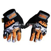 New Style KTM Moto Qualité Véritable Gants VTT Gants de motocross de vélo de saleté vélo gants de cyclisme
