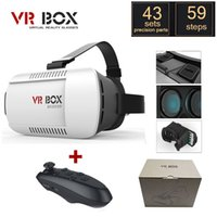 Wholesale Google cardboard VR BOX Version VR Virtual Reality Glasses oculus Rift Bluetooth Wireless Remote Control Gamepad with package