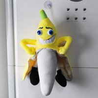 bad banana - 1 xNew Super Cute Headplay Evil Bad Banana Man Cartoon Figure Soft Plush Stuffed Toy Gift for Kid to WORLDWIDE