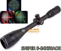 air rifle sniper - SINPER X50quakeproof yards Red Green blue dot Riflescope Mil Dot Air Rifle Gun Outdoor Optics Sniper Deer Hunting Scope
