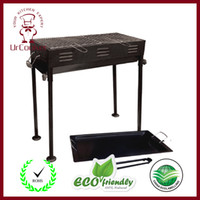 Wholesale BBQ Outdoor Grill Spray chrome Charcoal Grill Outdoor grill High quality grill DHL
