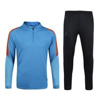 Wholesale 2016 New Sports Winter Autumn Spring Training Sweater Running Suit NL National Fans Blue tracksuit Windproof Adult Popular Kit