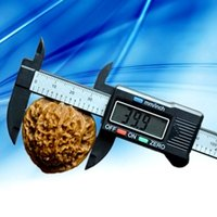 Wholesale Pc Carbon Fiber Composite inch mm Vernier Digital Electronic Caliper Ruler ZH278