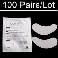 Wholesale Luxury pairs Eye Patches Eye Pad For Eyelash Building Eye lashes Extensions Made In China