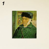 artwork portraits - Classical Van Gogh Severedear Oil Painting Self portrait Artwork Digital Prints from HD Image Modular Pictures Painting on Wall