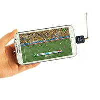 Wholesale High Quality Mini Micro USB DVB T Digital Mobile TV Tuner Receiver for Android