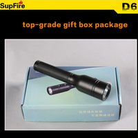 battery jobs - SupFire D6 rechargeable explosion proof flashlight using lithium battery anti explosion explosionproof Ex Electric Torches in dangerous job