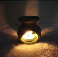 Wholesale Set creative ceramic vaporizer candles Candlestick Collectibles student friends classmates birthday gift