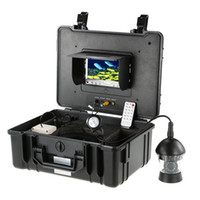 Wholesale DVR Video Recorder Fishing Underwater Camera Degree quot LCD Rotating CCD TVL Fish Finder Fish Detector Monitor