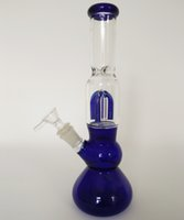 arm ice - Blue glass bong Arm Tree ice hole Oil Rig Glass bongs quot size with mm joint