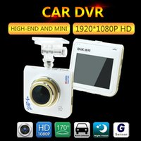 Wholesale car dvd Car Dvr Ambarella A8 Chipset dash cam p FULL HD degree Mini Camcorder Car Video Recorder car dvrs camera detector