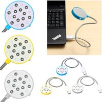 bedside laptop desk - New High Quality Portable Flexible USB LED Light Desk Bedside Reading Lamp Mirror for Laptop PC For Computer