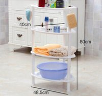 bathroom basin shelves - 48 cm g Plastic PP Kitchen Bathroom Tripod Storage Holders Racks Triangle Basin Shelf