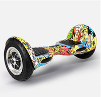 used scooters - Classic inch Hoverboard Two Wheels Electric scooters with Remote Controller LED strips Brand New Parts Used