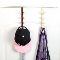 Wholesale 2 Creative Door coat hooks seamless hook door after the hook hanger row hook wall rack hangers
