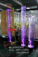 aperture lamp - Crystal column bubble water lamp bubble water lamp luminous road Feng Shui column Mini Aquarium Bubble screen meters high Aperture cm
