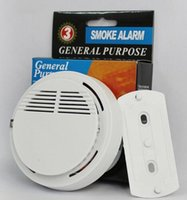 battery operated security alarm - White Wireless Smoke Detector System with V Battery Operated High SensitivityStable Fire Alarm Sensor Suitable for Detecting Home Security