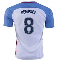 Wholesale The US Men s National Soccer Team Copa America Dempsey Soccer Jerseys Thai Quality Customized Diskerud Soccer WEAR shirts