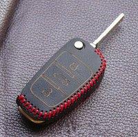 achat en gros de cuir de couverture clé audi-Housse de protection pour Audi A4 a6 a3 a6 c5 q7 A1 A5 A7 A8 Q5 R8 TT S5 S6 S7 S8