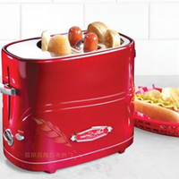 american appliance - American retro baking bread machine fashion red metal creative home appliances kitchen utensils DIY breakfast artifact hot dog hot