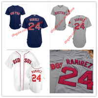 best red sox - Manny Ramirez Jersey Boston Red Sox Jerseys Men Stitched White Red Grey Blue Best Quality