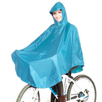 Wholesale 2015 Fashion Waterproof Polyester Motorcycle Raincoat Bicycle Rain Poncho For Women color blue red purple