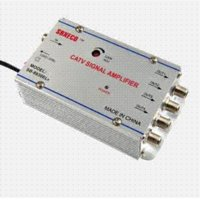 Wholesale 4 Way TV VCR Antenna Signal Amplifier Booster Splitter booster amplifier booster antenna booster antenna