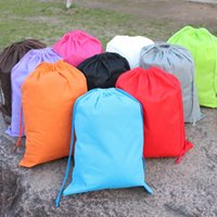 Wholesale Drawstring Dustproof Storage Bags for Travel Shoes Laundry Lingerie Makeup Pouch Cosmetic Underwear Organizer JC0213