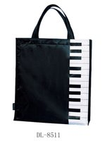 advertise fashion - oxford cloth fanshion music notes bag music theme bag music Advertising gift bag