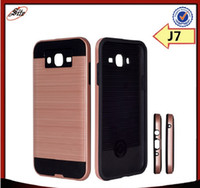 armor factory - PC TPU Phone Case For samsung galaxy j7 factory price armor case for samsung J7 j7 DHL free