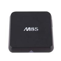 Wholesale M8S Android TV Box Quad Core Amlogic S812 G RAM G ROM Smart TV Box G G Dual Wifi Bluetooth KODI Pre installed APK ADD ONS